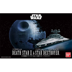 1/2,700,000 DEATH STAR II & 1/14,500 STAR DESTROYER