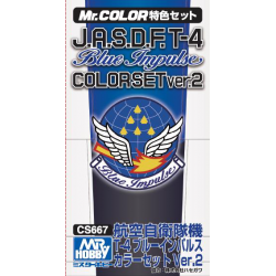 MR. Color - J.A.S.D.F. T-4 Blue Impulse Color Set (CS667)