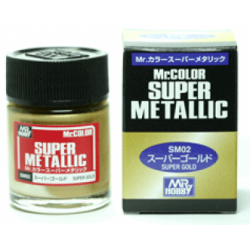 Mr Color - Super Metallic - Gold - (SM02)