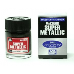 Mr Color - Super Metallic - Iron - (SM03)