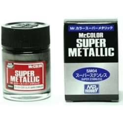 Mr Color - Super Metallic - Stainless - (SM04)