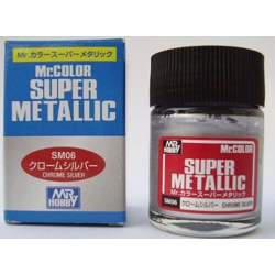 Mr Color - Super Metallic - Chrome Silver - (SM06)