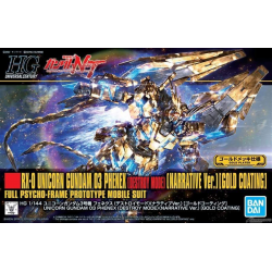 HG UC UNICORN GUNDAM 03 PHENEX (GOLD COATING) (216)