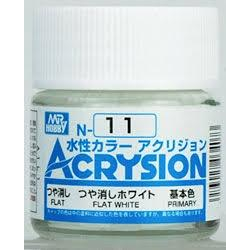 Acrysion N11 - Flat White (Flat/Primary)
