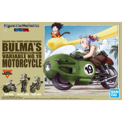 Figure-rise Mechanics - Bulma's Variable No.19 Motorcycle