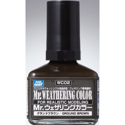 Mr. Weathering Color - Ground Brown (WC02)