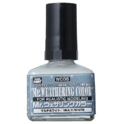 Mr. Weathering Color - Multi White (WC05)