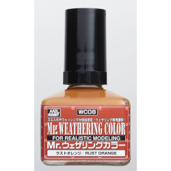 Mr. Weathering Color - Rust Orange (WC08)