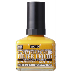 Mr. Weathering Color - Filter Liquid Yellow (WC10)