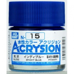 Acrysion N15 - Bright Blue (Gloss/Primary)
