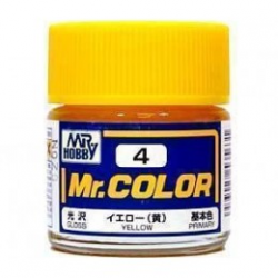 Mr. Color 4 - Yellow (Gloss/Primary) (C4)