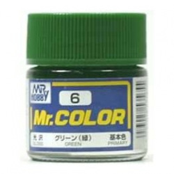 Mr. Color 6 - Green (Gloss/Primary) (C6)