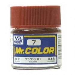 Mr. Color 7 - Brown (Gloss/Primary) (C7)