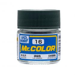 Mr. Color 16 - IJA Green (Semi-Gloss/Aircraft) (C16)
