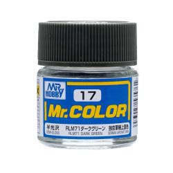 Mr. Color 17 - RLM71 Dark Green (Semi-Gloss/Aircraft) (C17)