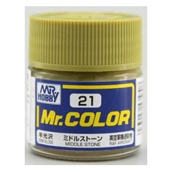 Mr. Color 21 - Middle Stone (Semi-Gloss/Aircraft) (C21)
