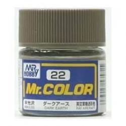 Mr. Color 22 - Dark Earth (Semi-Gloss/Aircraft) (C22)