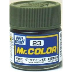 Mr. Color 23 - Dark Green (2) (Semi-Gloss/Aircraft) (C23)