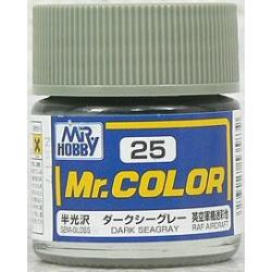 Mr. Color 25 - Dark Seagray (Semi-Gloss/Aircraft) (C25)
