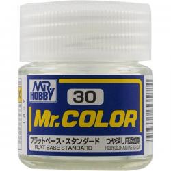 Mr. Color 30 - Flat Base (Flat/NA) (C30)