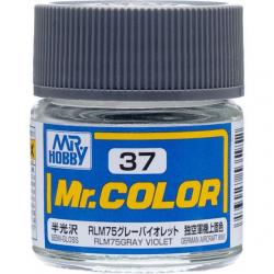 Mr. Color 37 - RLM75 Gray Violet (Semi-Gloss/Aircraft) (C37)