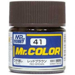 Mr. Color 41 - Red Brown (Flat/Tank) (C40)
