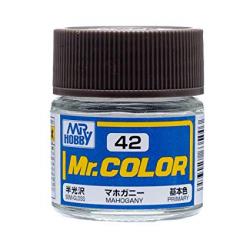 Mr. Color 42 - Mahogany (Semi-Gloss/Primary) (C42)