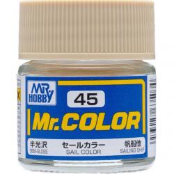 Mr. Color 45 - Sail Color (Semi-Gloss/Ship) (C45)