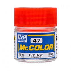 Mr. Color 47 - Clear Red (Gloss/Primary) (C47)