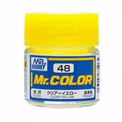 Mr. Color 48 - Clear Yellow (Gloss/Primary) (C48)