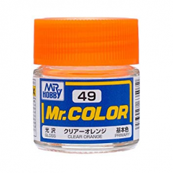 Mr. Color 49 - Clear Orange (Gloss/Primary) (C49)