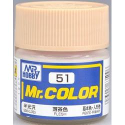 Mr. Color 51 - Flesh (Semi-Gloss/Primary) (C51)