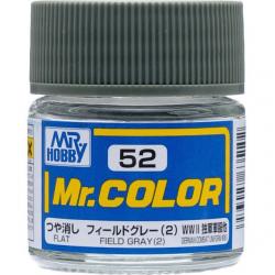 Mr. Color 52 - Field Gray (2) (Flat/Tank) (C52)