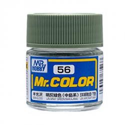 Mr. Color 56 - LJN Gray Green (Semi-Gloss/Tank) (C56)