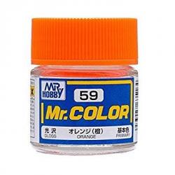 Mr. Color 59 - Orange (Semi-Gloss/Aircraft) (C59)