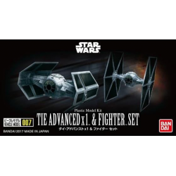 TIE ADVANCED x 1 & FIGHTER SET (007)