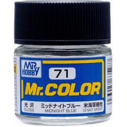 Mr. Color 71 - Midnight Blue (Semi-Gloss/Primary) (C71)