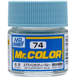 Mr. Color 74 - Air Superiority Blue (Gloss/Aircraft) (C74)