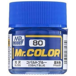 Mr. Color 80 - Cobalt Blue (Semi-Gloss/Primary) (C80)