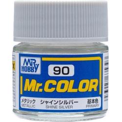 Mr. Color 90 - Shine Silver (Metallic/Primary) (C90)