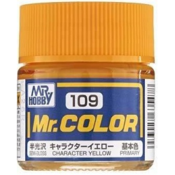 Mr. Color 109 - Character Yellow (Semi-Gloss/Primary) (C109)