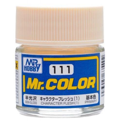 Mr. Color 111 - Character Flesh (1) (Semi-Gloss/Primary) (C111)