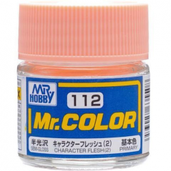 Mr. Color 112 - Character Flesh (2) (Semi-Gloss/Primary) (C112)