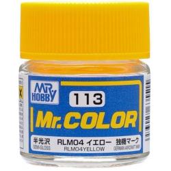 Mr. Color 113 - RLM04 Yellow (Semi-Gloss/Aircraft) (C113)