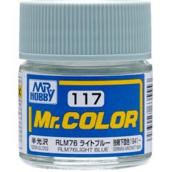 Mr. Color 117 - RLM76 Light Blue (Semi-Gloss/Aircraft) (C117)