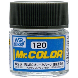 Mr. Color 120 - RLM80 Olive Green (Semi-Gloss/Aircraft) (C120)
