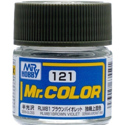 Mr. Color 121 - RLM81 Brown Violet (Semi-Gloss/Aircraft) (C121)