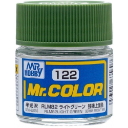 Mr. Color 122 - RLM82 Light Green (Semi-Gloss/Aircraft) (C122)