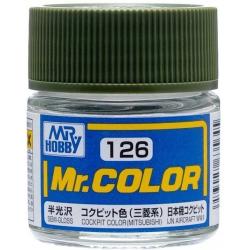 Mr. Color 126 - Cockpit Color (Semi-Gloss/Aircraft) (C126)
