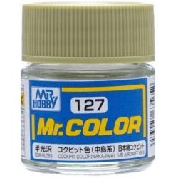 Mr. Color 127 - Cockpit Color (Nakajima) (Semi-Gloss/Aircraft) (C127)
